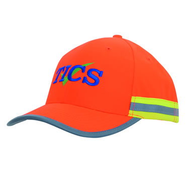 3030 Hi Vis Cap with Reflective Tape