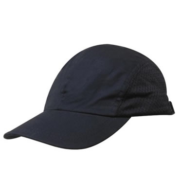 3812 Cotton Sports Cap With Mesh Sides