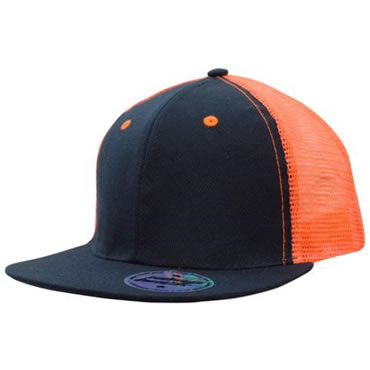 3818 Premium American Twill with Mesh Back & Snap Back Pro Styling