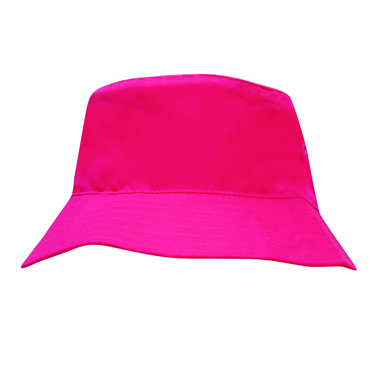 3938 Breathable Poly Twill Infants Bucket Hat [52cm]