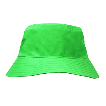 3939 Breathable Poly Twill Childs Bucket Hat [54cm]
