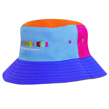 3941 Breathable Poly Twill Childs Bucket Hat