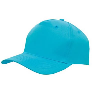 4011 5 Panel Breathable Poly Twill Cap