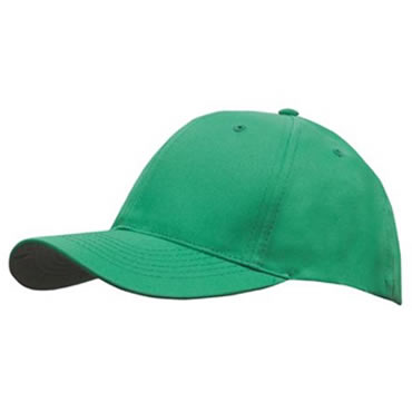 4012 6 Panel Breathable Poly Twill Cap