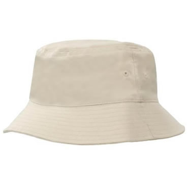 4107 Breathable Poly Twill Bucket Hat