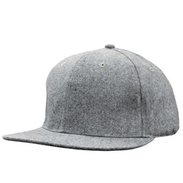 4135 Grey Marle Flannel with Snap Back Pro Styling