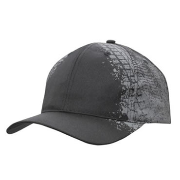 4186 Brushed Cotton with Reflective Trim on Visor