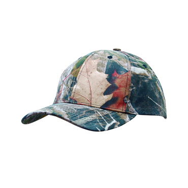 4196 True Timber Camouflage 6 Panel Cap