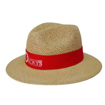 4284 Natural Madrid Style String Straw Hat