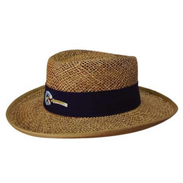 4286 Natural Classic Style String Straw Hat